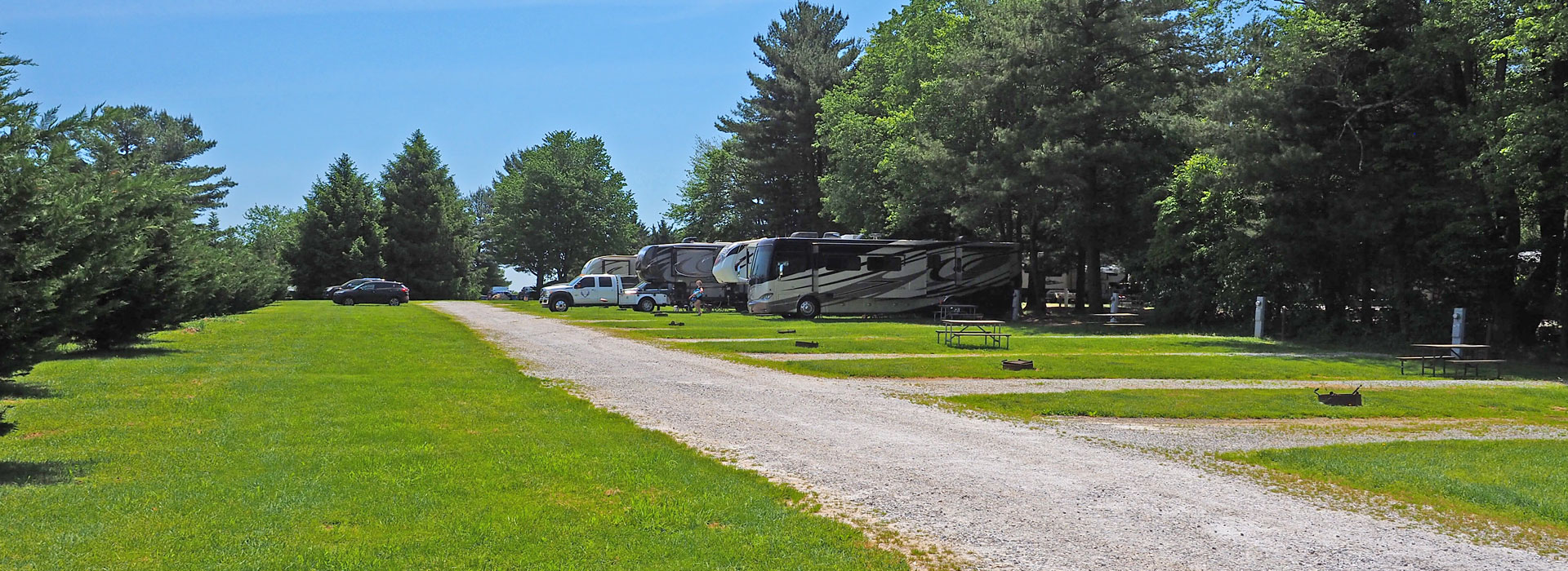 Spacious Sunny RV Sites